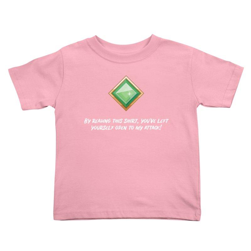 Brawler Jade Kids Toddler T-Shirt by My Shirty Life