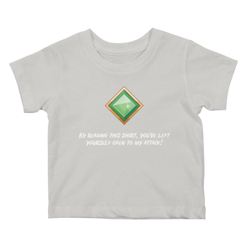 Brawler Jade Kids Baby T-Shirt by My Shirty Life