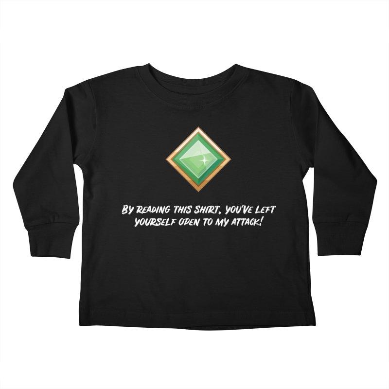 Brawler Jade Kids Toddler Longsleeve T-Shirt by My Shirty Life