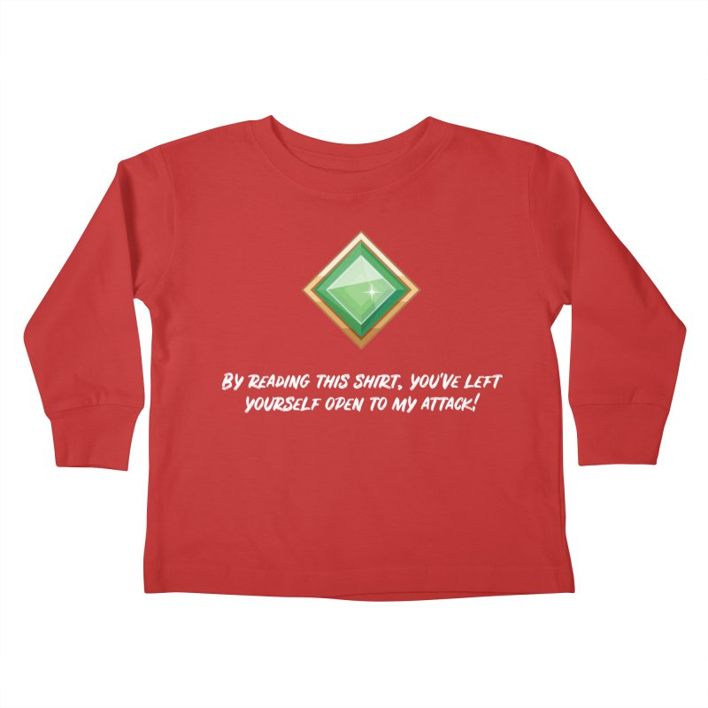 Brawler Jade Kids Toddler Longsleeve T-Shirt by My Shirty Life