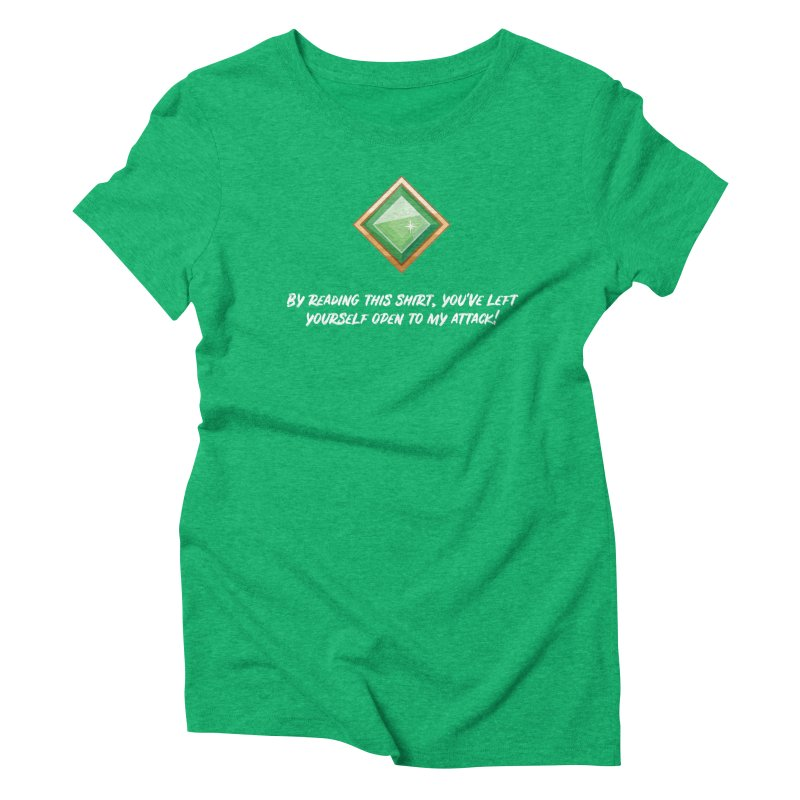 Brawler Jade Women's Triblend T-Shirt by My Shirty Life
