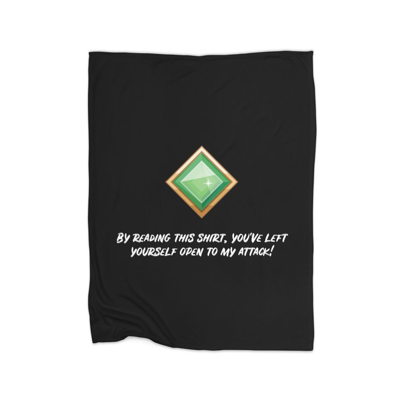 Brawler Jade Home Blanket by My Shirty Life