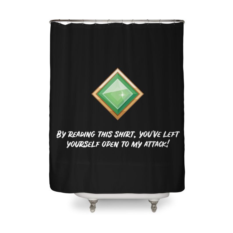Brawler Jade Home Shower Curtain by My Shirty Life