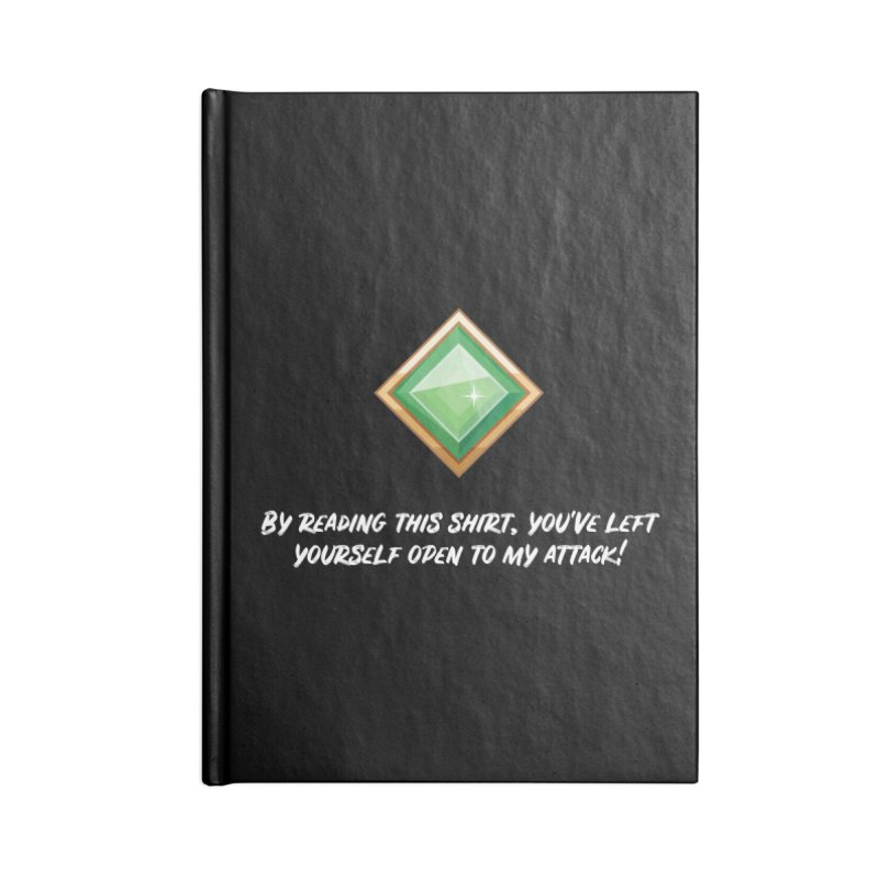 Brawler Jade Accessories Notebook by My Shirty Life