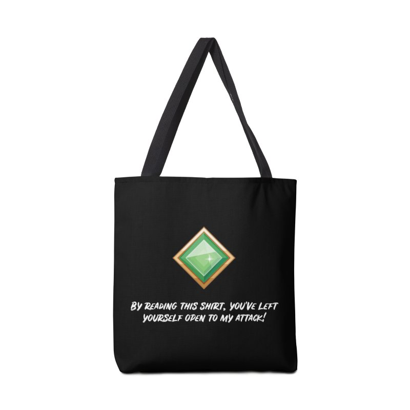 Brawler Jade Accessories Tote Bag Bag by My Shirty Life