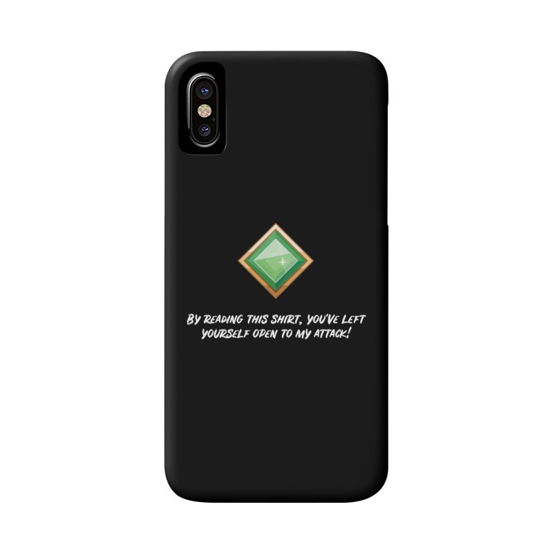 Brawler Jade Accessories Phone Case by My Shirty Life