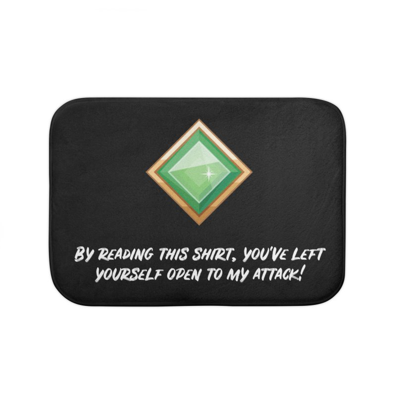 Brawler Jade Home Bath Mat by My Shirty Life