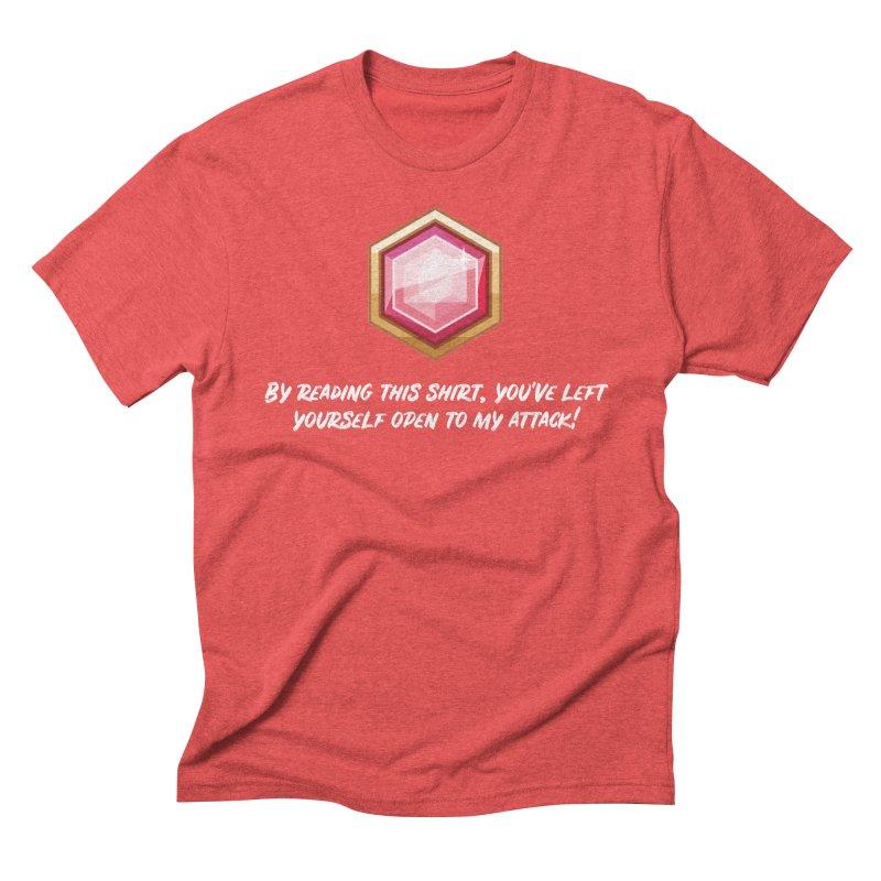 Brawler Ruby Men's Triblend T-Shirt by My Shirty Life