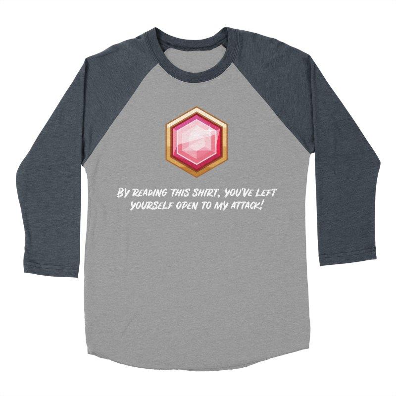 Brawler Ruby Men's Baseball Triblend T-Shirt by My Shirty Life