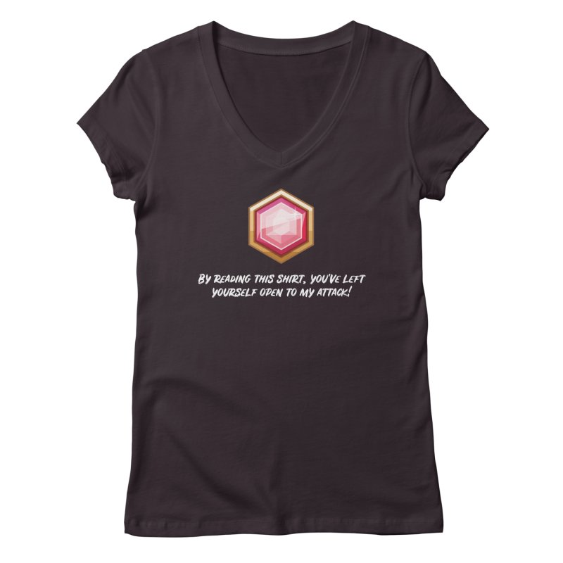 Brawler Ruby Women's V-Neck by My Shirty Life