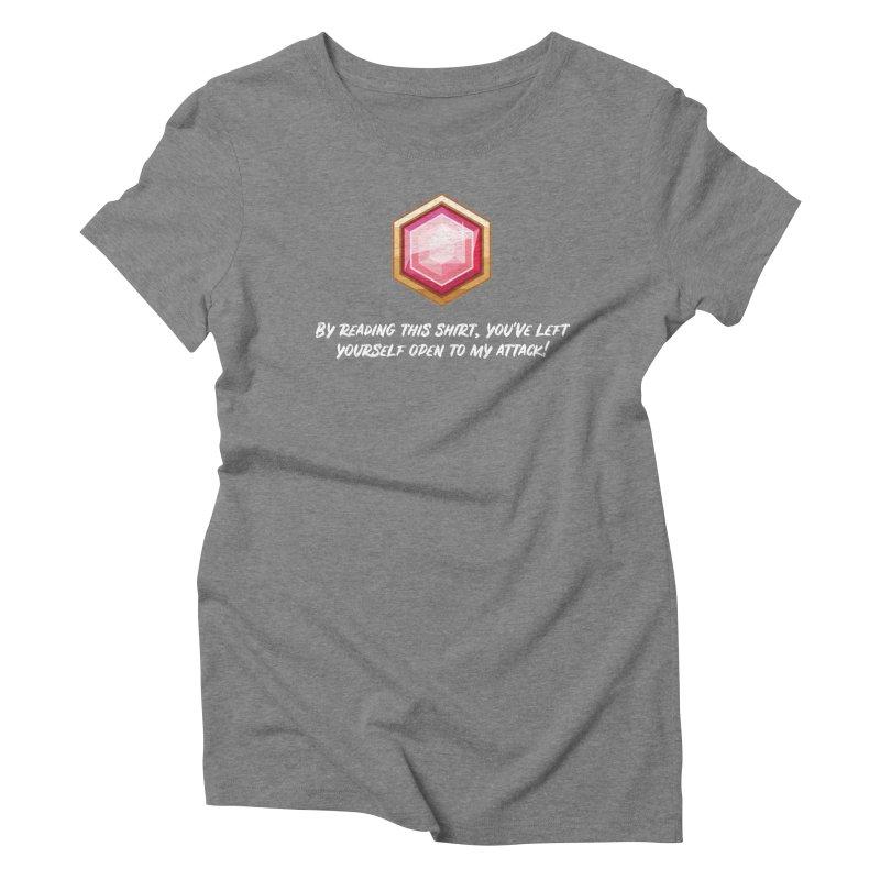 Brawler Ruby Women's Triblend T-Shirt by My Shirty Life
