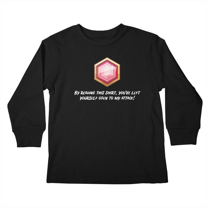 Brawler Ruby Kids Longsleeve T-Shirt by My Shirty Life