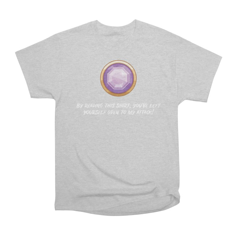 Brawler Amethyst Women's Classic Unisex T-Shirt by My Shirty Life