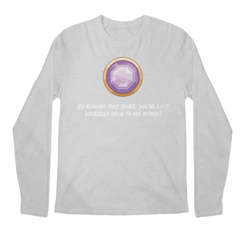 Brawler Amethyst Men's Longsleeve T-Shirt by My Shirty Life