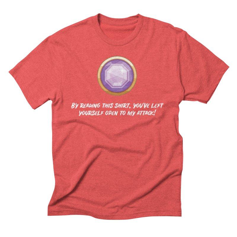 Brawler Amethyst Men's Triblend T-Shirt by My Shirty Life
