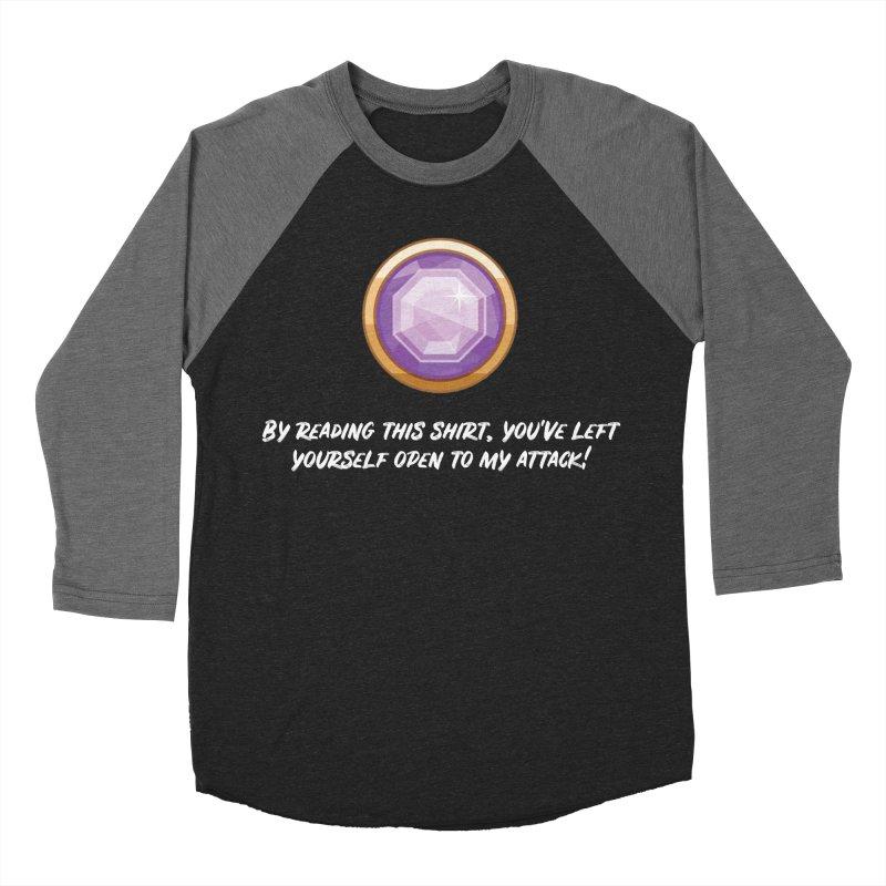 Brawler Amethyst Women's Baseball Triblend T-Shirt by My Shirty Life