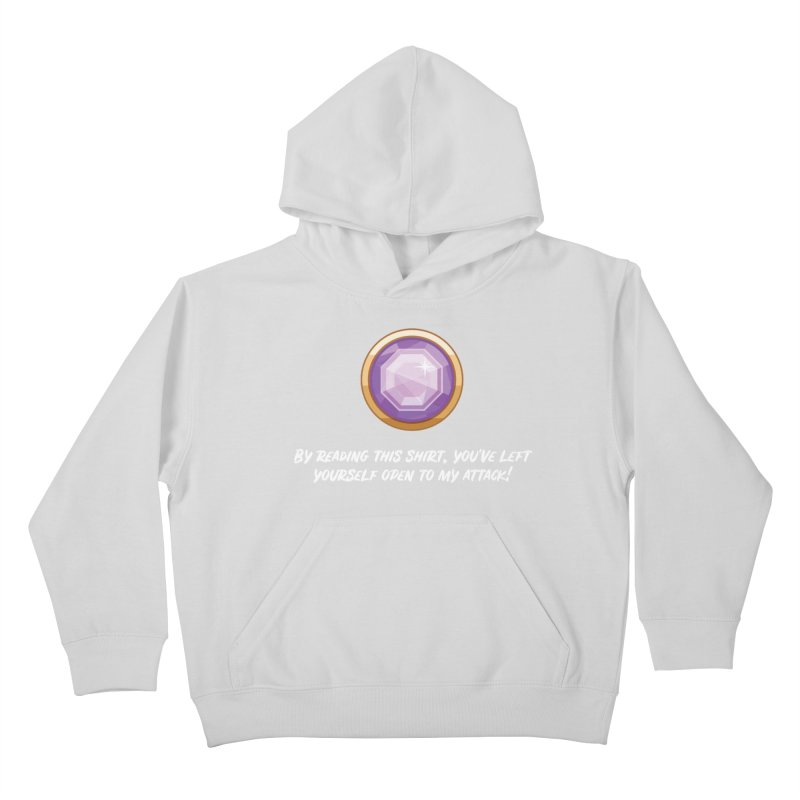 Brawler Amethyst Kids Pullover Hoody by My Shirty Life
