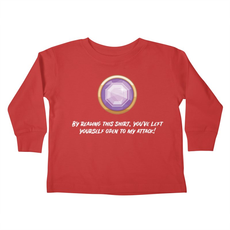 Brawler Amethyst Kids Toddler Longsleeve T-Shirt by My Shirty Life