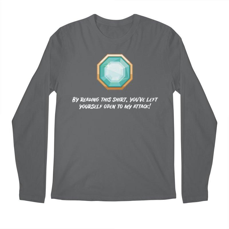 Brawler Sapphire Men's Longsleeve T-Shirt by My Shirty Life