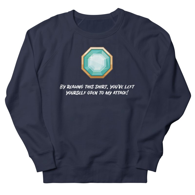 Brawler Sapphire Women's Sweatshirt by My Shirty Life