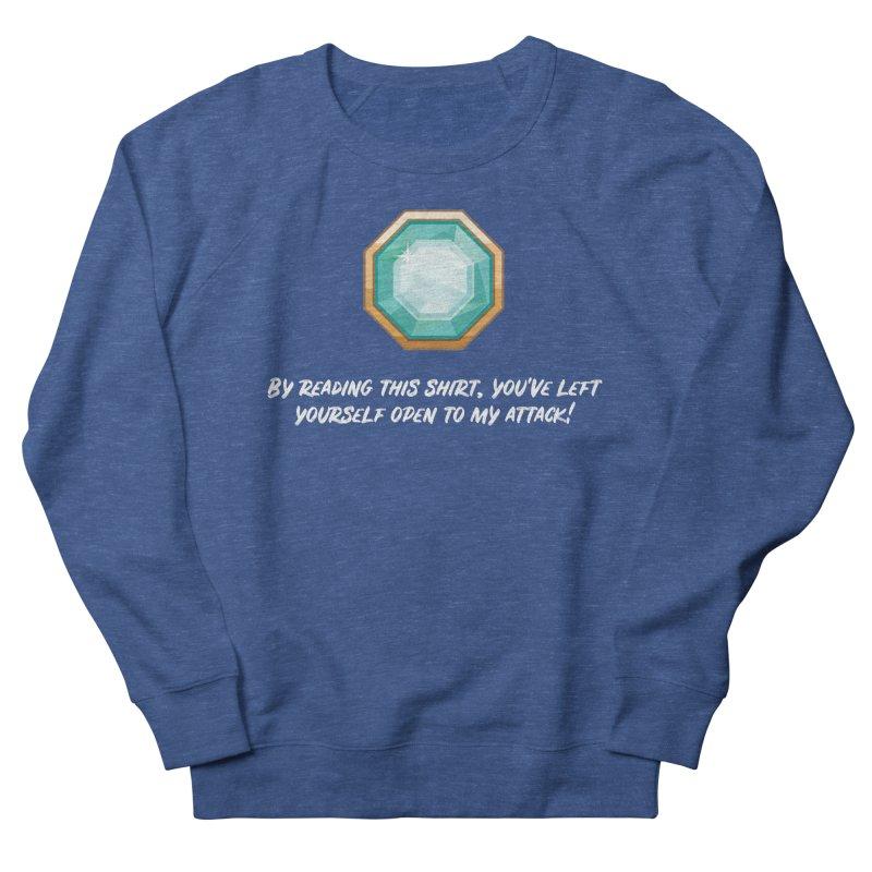 Brawler Sapphire Men's Sweatshirt by My Shirty Life