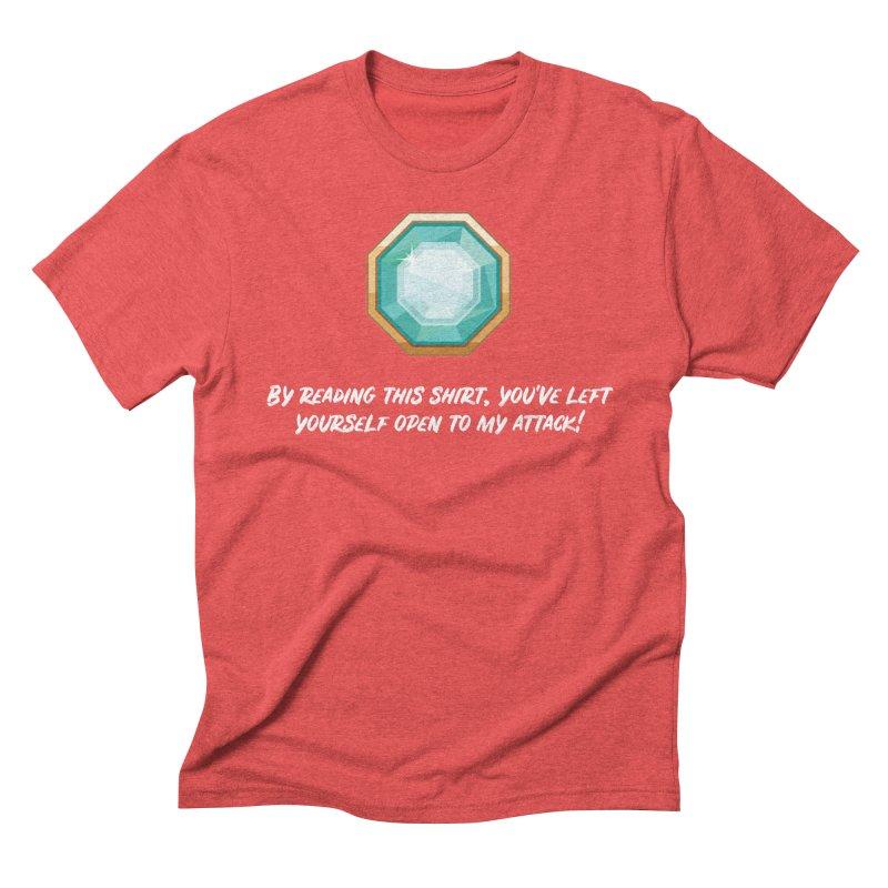 Brawler Sapphire Men's Triblend T-Shirt by My Shirty Life