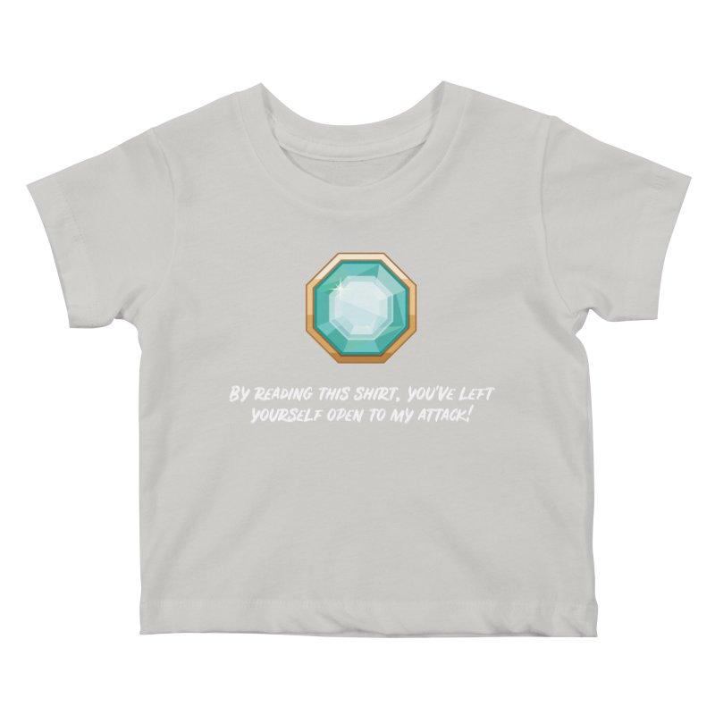 Brawler Sapphire Kids Baby T-Shirt by My Shirty Life