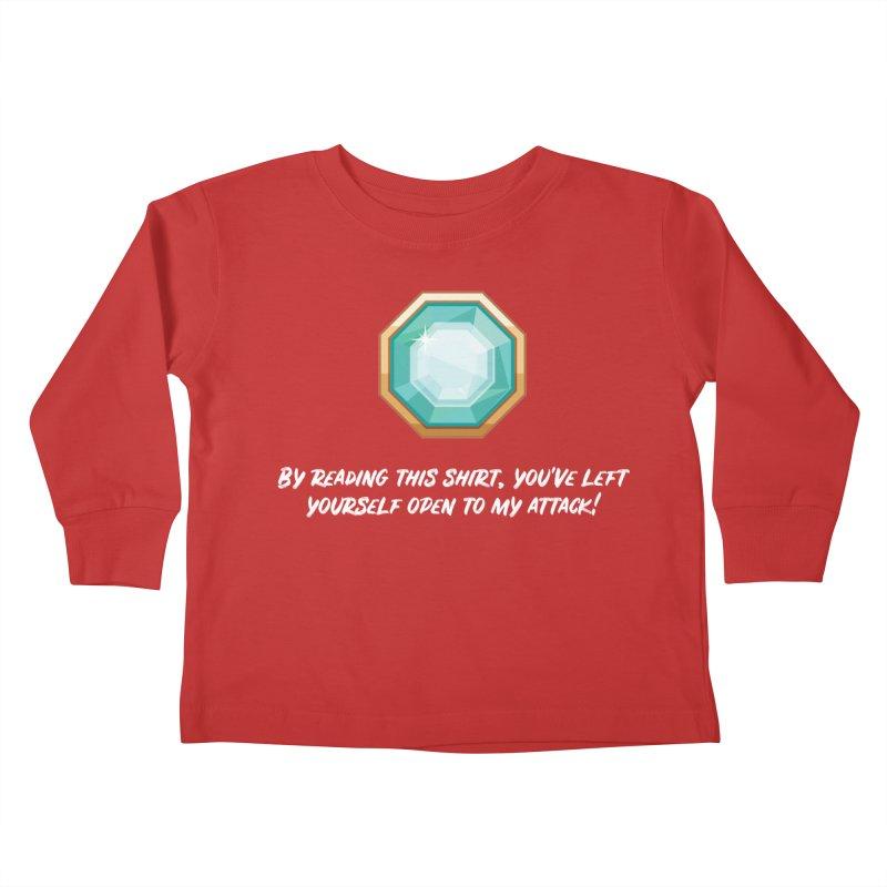 Brawler Sapphire Kids Toddler Longsleeve T-Shirt by My Shirty Life
