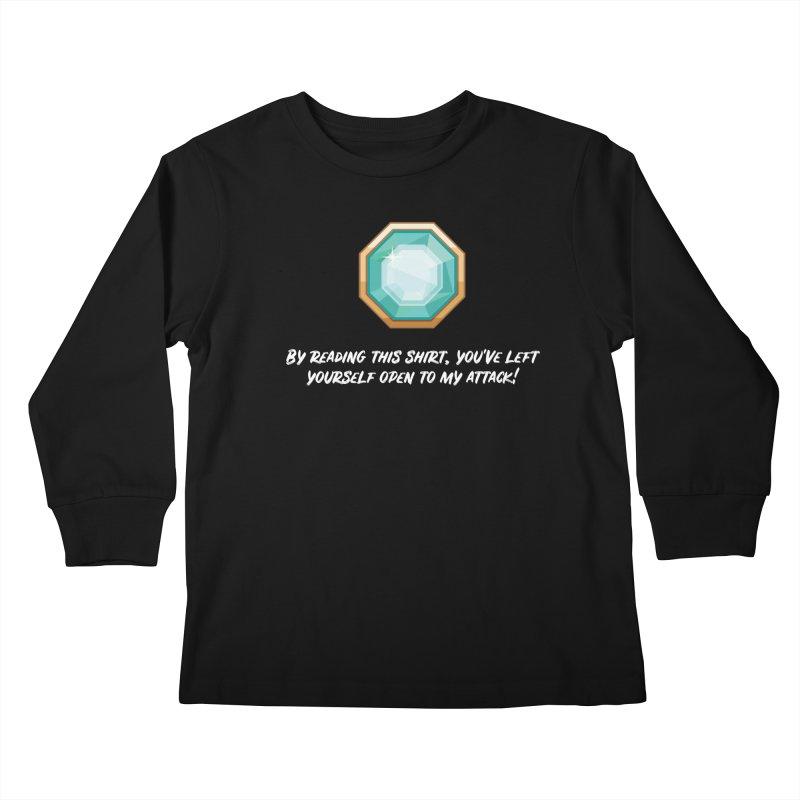 Brawler Sapphire Kids Longsleeve T-Shirt by My Shirty Life