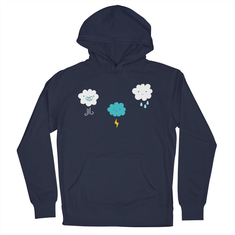 Three Totally Normal Clouds Women's Pullover Hoody by My Shirty Life