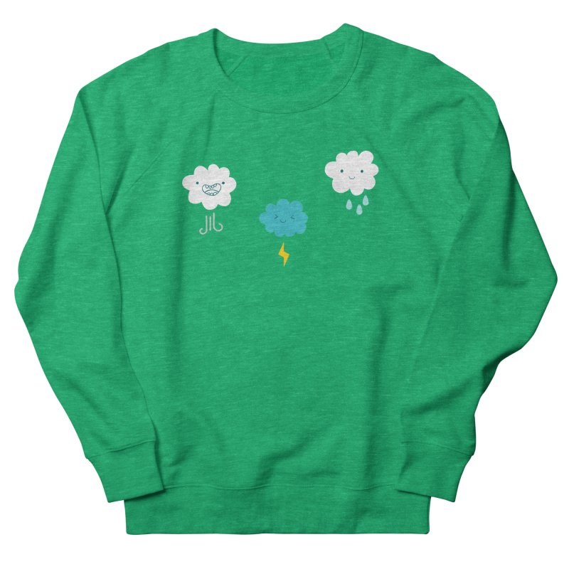 Three Totally Normal Clouds Women's Sweatshirt by My Shirty Life