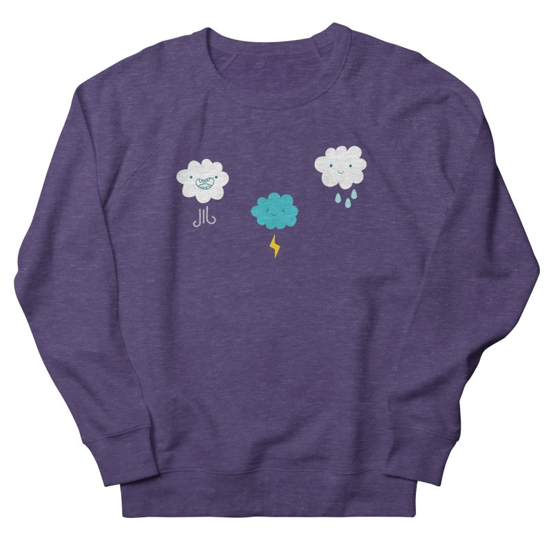 Three Totally Normal Clouds Men's Sweatshirt by My Shirty Life