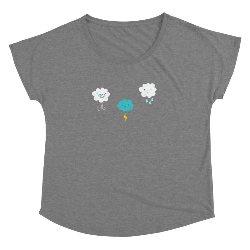 Three Totally Normal Clouds Women's Dolman by My Shirty Life