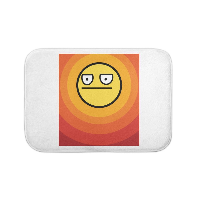 Sunwaves - Not Amused Home Bath Mat by My Shirty Life