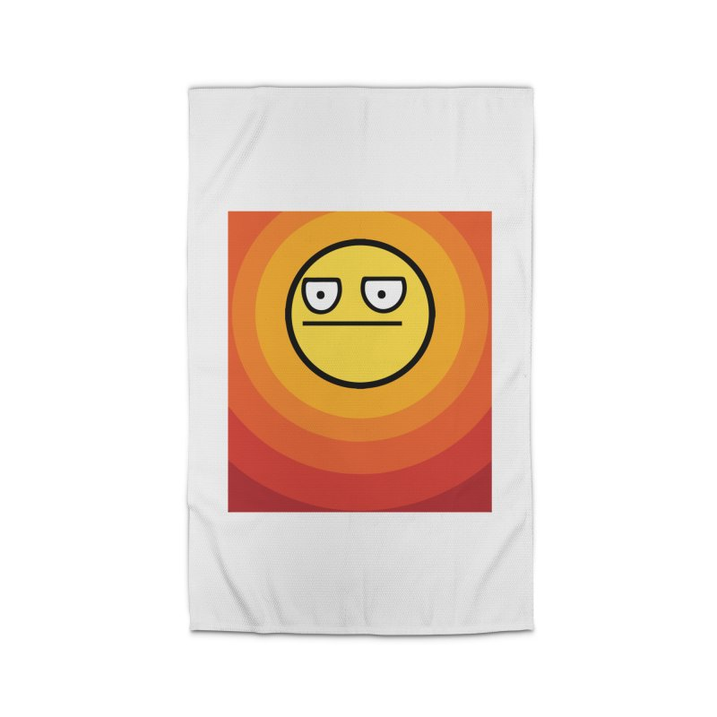 Sunwaves - Not Amused Home Rug by My Shirty Life