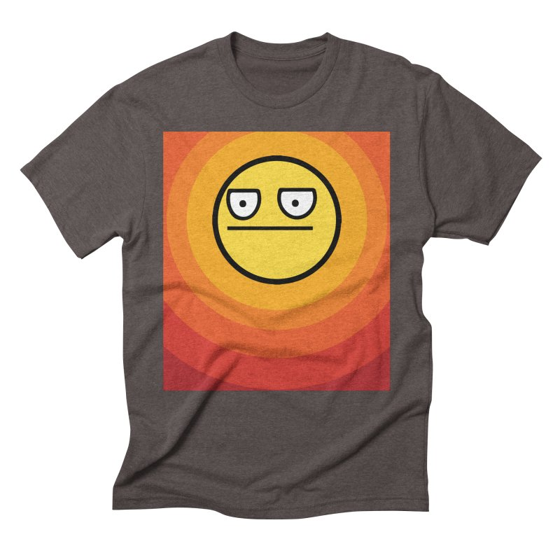 Sunwaves - Not Amused Men's Triblend T-Shirt by My Shirty Life