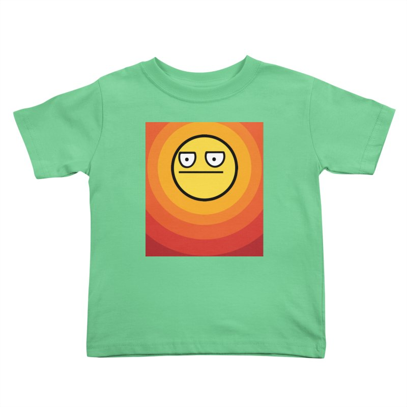 Sunwaves - Not Amused Kids Toddler T-Shirt by My Shirty Life