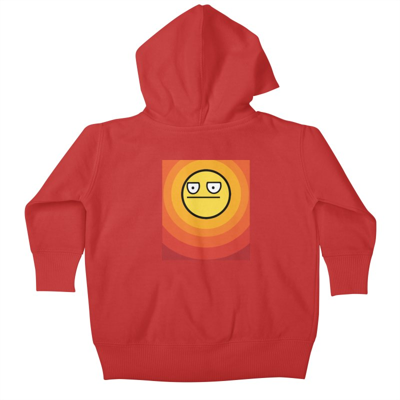 Sunwaves - Not Amused Kids Baby Zip-Up Hoody by My Shirty Life