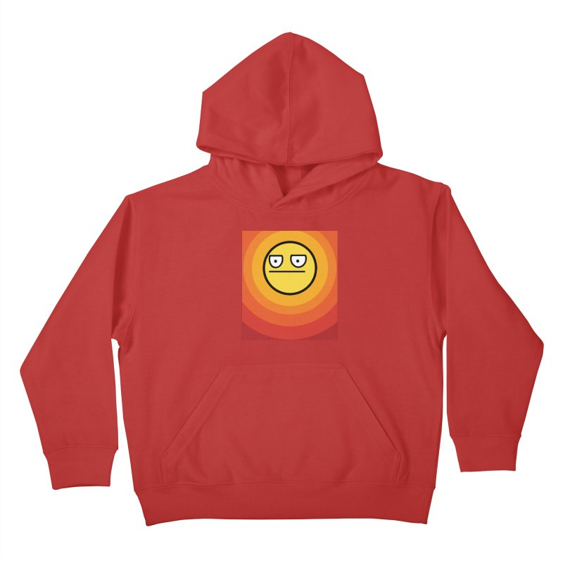 Sunwaves - Not Amused Kids Pullover Hoody by My Shirty Life