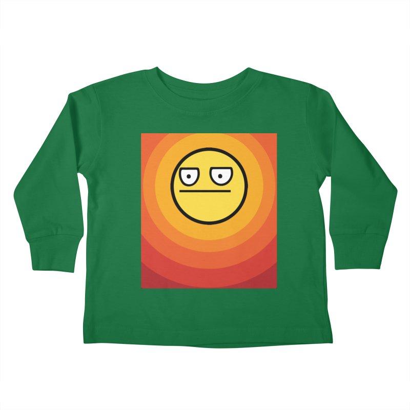 Sunwaves - Not Amused Kids Toddler Longsleeve T-Shirt by My Shirty Life