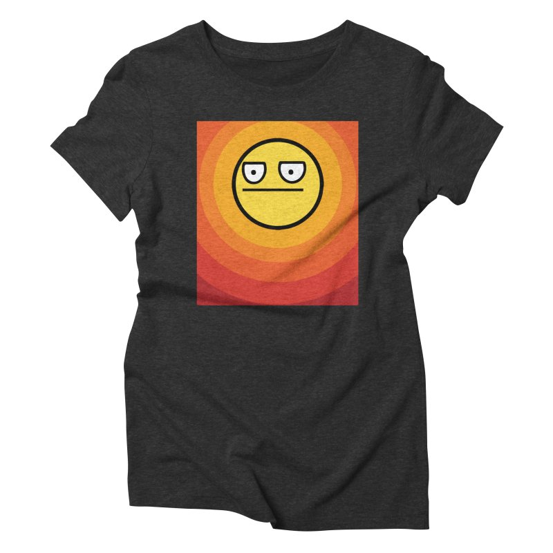 Sunwaves - Not Amused Women's Triblend T-Shirt by My Shirty Life