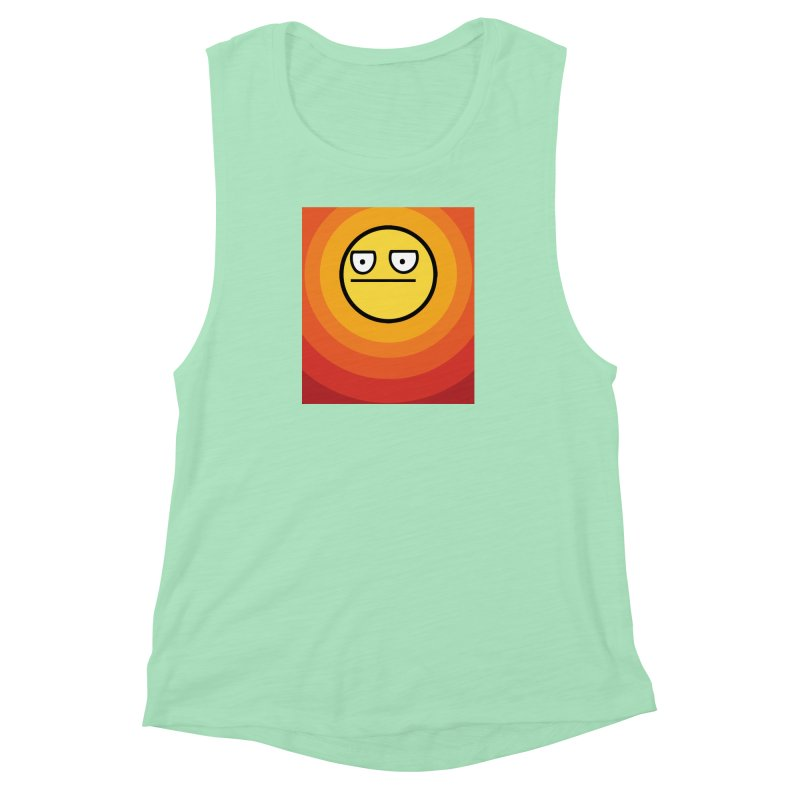 Sunwaves - Not Amused Women's Muscle Tank by My Shirty Life