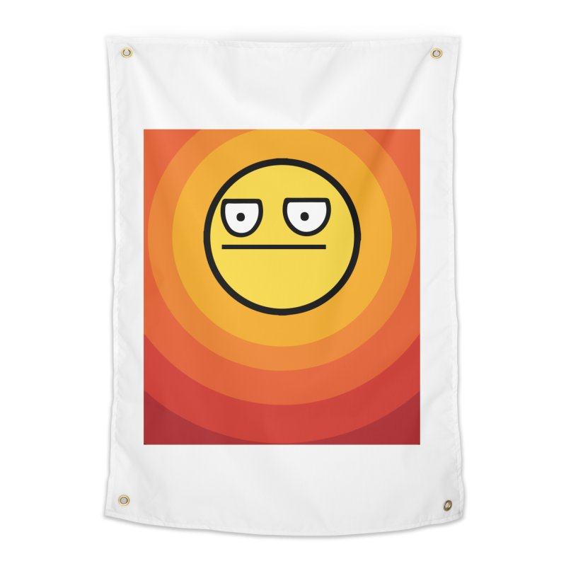 Sunwaves - Not Amused Home Tapestry by My Shirty Life