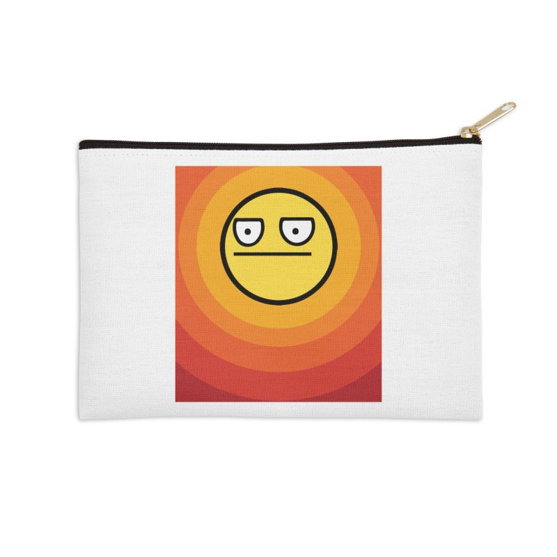 Sunwaves - Not Amused Accessories Zip Pouch by My Shirty Life