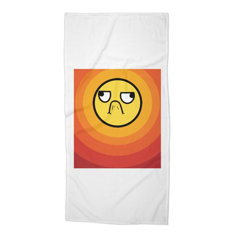 Sunwaves - Grumpy Accessories Beach Towel by My Shirty Life