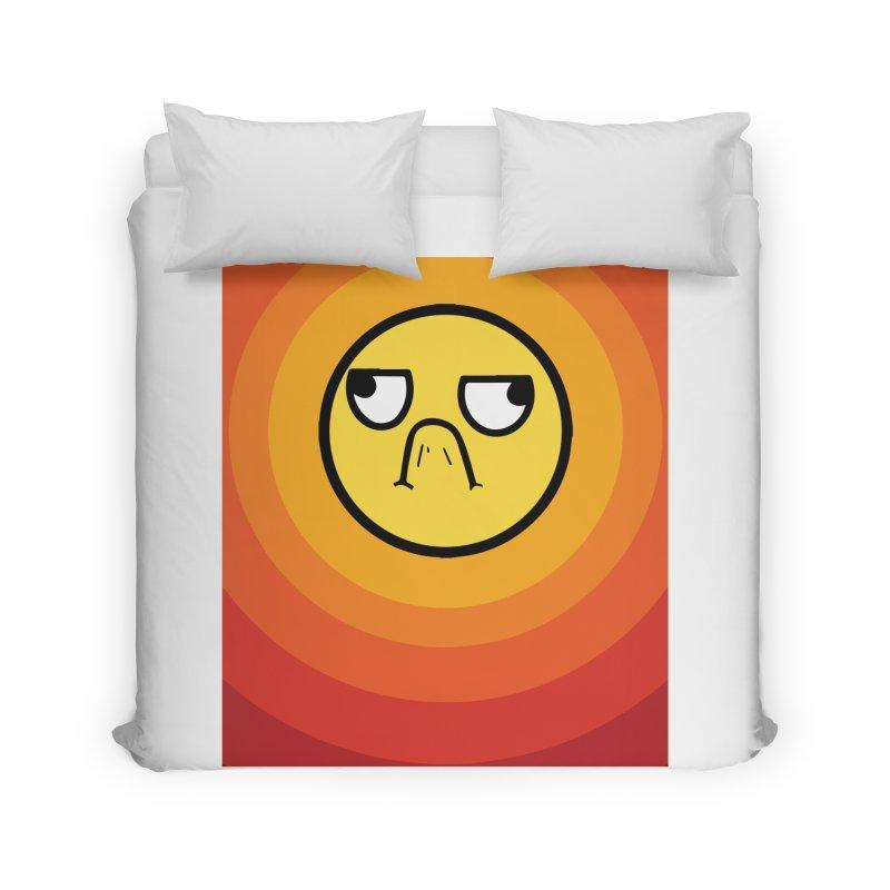 Sunwaves - Grumpy Home Duvet by My Shirty Life