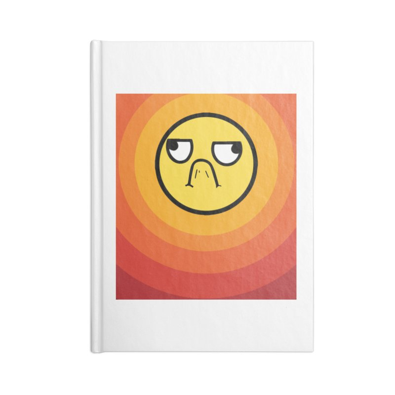 Sunwaves - Grumpy Accessories Notebook by My Shirty Life