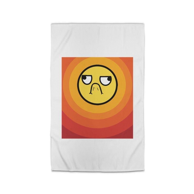 Sunwaves - Grumpy Home Rug by My Shirty Life