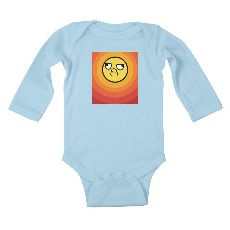 Sunwaves - Grumpy Kids Baby Longsleeve Bodysuit by My Shirty Life