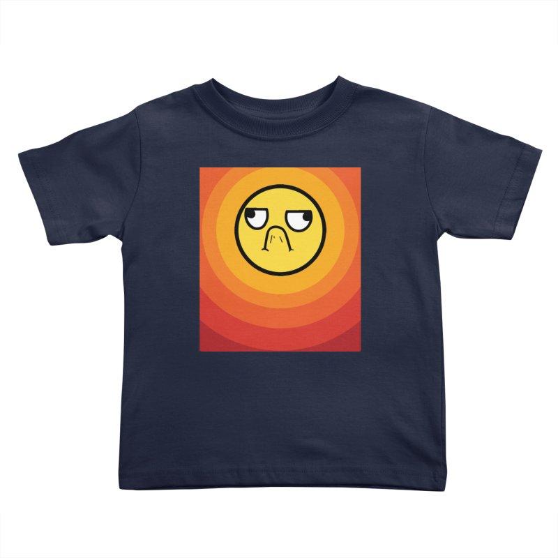 Sunwaves - Grumpy Kids Toddler T-Shirt by My Shirty Life